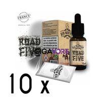 Ben Northon - Lot de 10 e-liquides Road Five - 0 mg soit 4,90 euros le flacon 10ml