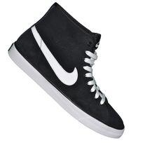 Nike - Basket Sneaker - Primo Court Mid Leather - Noir Blanc Blanc