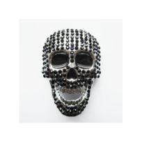 1633a64554a8 Universel - Boucle de ceinture crane 666 en 3D biker homme rock roll ...