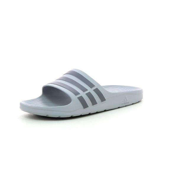 new product 2cc17 cb6d8 Adidas performance - Sandales Duramo Slide - pas cher Achat   Vente  Sandales et tongs homme - RueDuCommerce