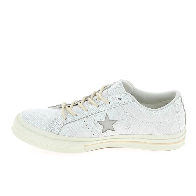 Converse One Star Blanc Brillant pas cher Achat Vente