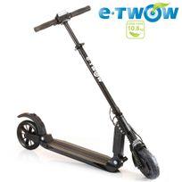 E-twow - Trottinette électrique grosse autonomie urbaine 35 km d'autonomie Booster S2 Etwow grise pliable