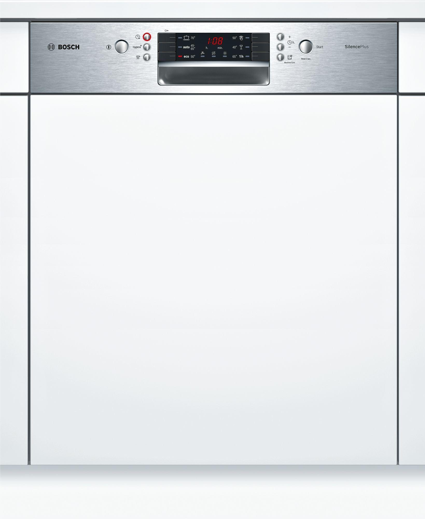bosch lave vaisselle silenceplus smi46as01e blanc achat lave vaisselle a. Black Bedroom Furniture Sets. Home Design Ideas