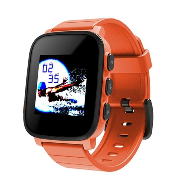 wewoo montre connect e orange 1 28 pouces cran lcd de m moire couleur bluetooth 4 0 smart. Black Bedroom Furniture Sets. Home Design Ideas