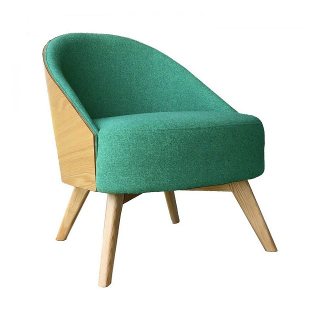Mathi Design Fauteuil scandinave Umea