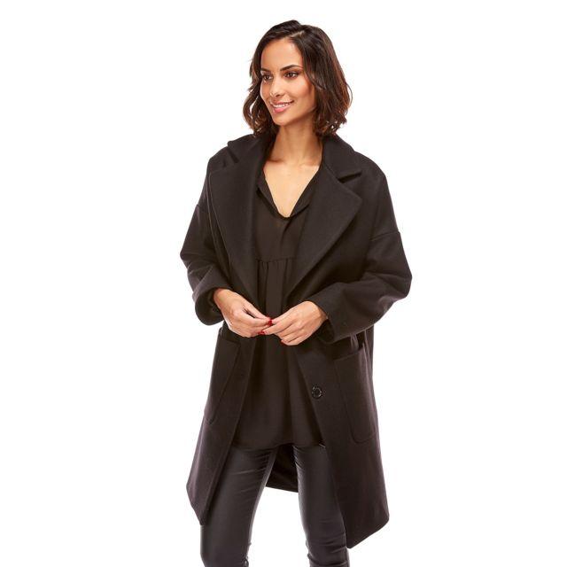 Doucel Diab'less manteau doublé coton val Couleur noir
