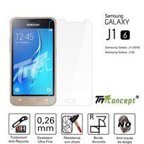 Autre - Samsung Galaxy J1 2016 Vitre de Protection Crystal - Tm Concept