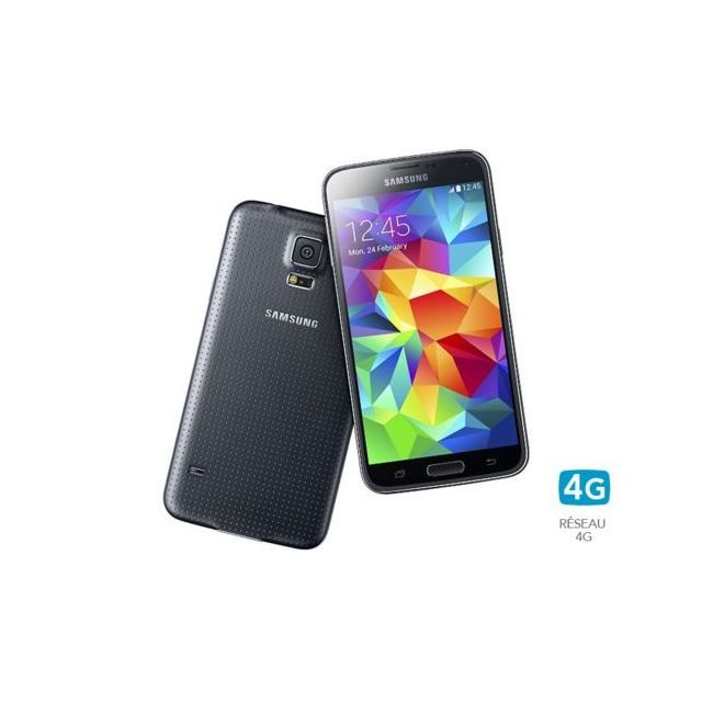 Samsung - Galaxy S5 4G Noir
