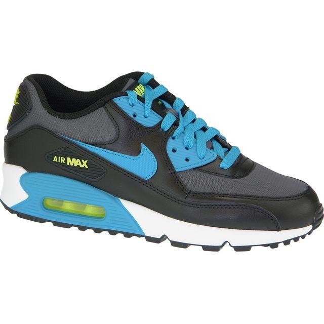 b594023d31802 Nike - Air Max 90 Gs 724824-004 Bleu - pas cher Achat   Vente ...