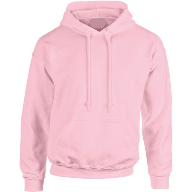 Fashion Cuir - Sweat capuche Couleur - rose, Taille Homme - S - pas ... 1dfce52994eb