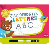 Editions Auzou - Livre éducatif Graine de Champion : J'apprends les lettres