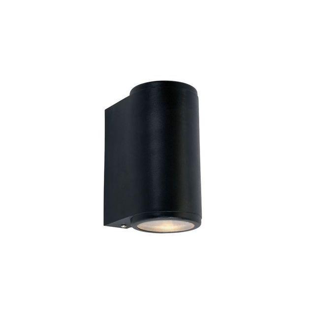Boutica-design Applique Mandal Noir 2x3,9W Max Led Gu10
