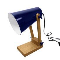 Rendez vous déco - Lampe de bureau Ino bleu foncé
