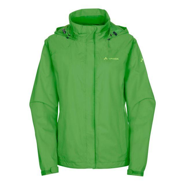 vaude veste escape bike light vert femme pas cher achat vente coupe vent vestes. Black Bedroom Furniture Sets. Home Design Ideas