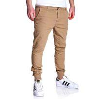 Marque Generique - Jogger pant pour homme Pantalon 3011 beige
