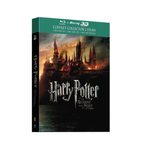 warner bros coffret harry potter 7 les reliques de la mort coffret blu ray pas cher achat. Black Bedroom Furniture Sets. Home Design Ideas