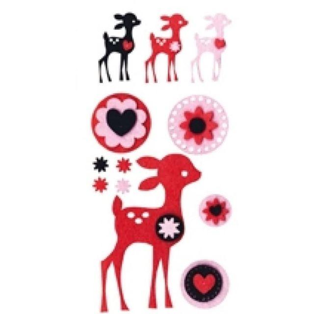 Artemio Motif En Feutrine Bambi Artémio Pas Cher Achat Vente