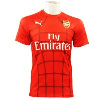 Puma - Afc Stadium Tee Maillot de Football Homme Rouge Arsenal Footbal Club