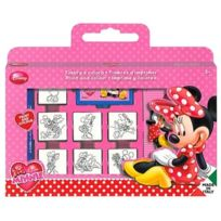 Disney Minnie Mouse Cube De Coloriage 25 Pieces Pas Cher Achat