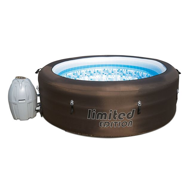 BESTWAY Spa rond Lay-Z-Spa - Spa gonflable rond - 12220 Spa gonflable Bestway de 196 cm de diamètre. Idéal pour se relaxer seul ou entre amis.