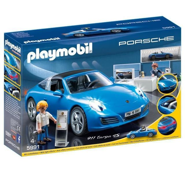 playmobil porsche 911 targa 4s 5991 pas cher achat. Black Bedroom Furniture Sets. Home Design Ideas