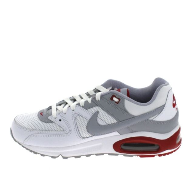 new appearance arrives outlet boutique Nike - Air Max Command Blanc Gris Rouge - pas cher Achat / Vente ...