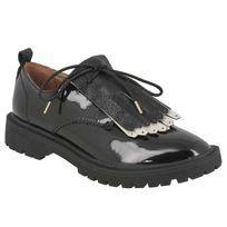 Armistice - Rock Derby w patent caoutchouc black sole black
