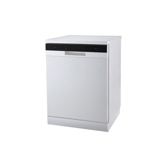 Continental Edison Celv1444w - Lave Vaisselle Pose Libre - 14 Couverts - 44 Db - A++ - L 60 Cm - Bandeau Blanc