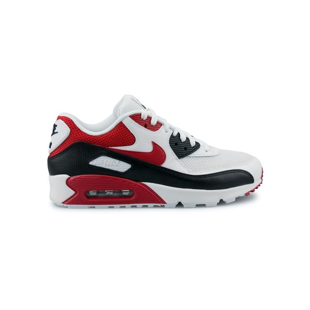 uk availability 3d5b8 b20d6 Nike - Air Max 90 Essential Blanc 537384-129 - pas cher Achat   Vente  Baskets homme - RueDuCommerce