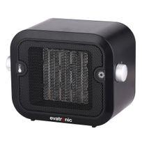 EVATRONIC - chauffage soufflant céramique 1500w noir - 26967