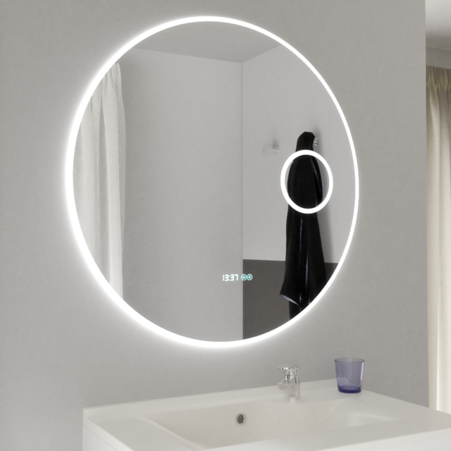 Creazur Miroir Led Anti Buee Rondinara 80 Cm Avec