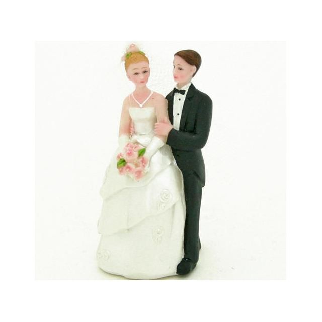Figurine mariés 7 cm