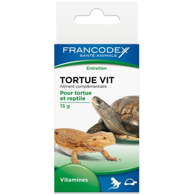 Francodex Tortue Vit Flacon de 15 gr pas cher Achat