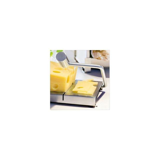 Alpexe Trancheuse a fromage avec fil acier et ensemble en Inox Professionnel
