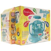 BADGE IT! - Maxi pack turquoise + recharge Jaune - 33303