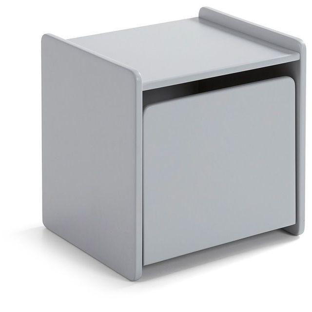 cm massif chevet COMFORIUM et Table MDF de pin 40 en srtQdhCx