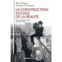Armand Colin - La construction sociale de la réalité
