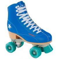 Hudora - Roller Disco Skates - Bleu/Vert - taille 36