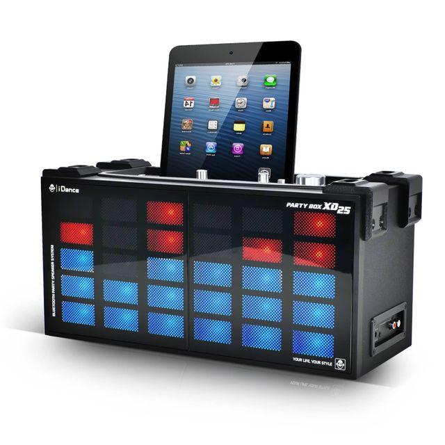 Idance Enceinte Dj Karaoke à Leds Disco 300W - 2 Voies BassReflex Usb/BLUTOOTH
