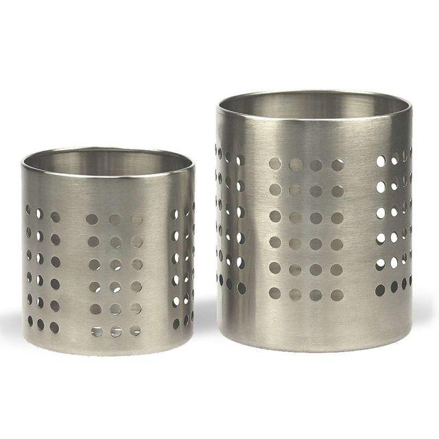 Revimport Pots à couverts set de 2, 10 et 12 cm inox