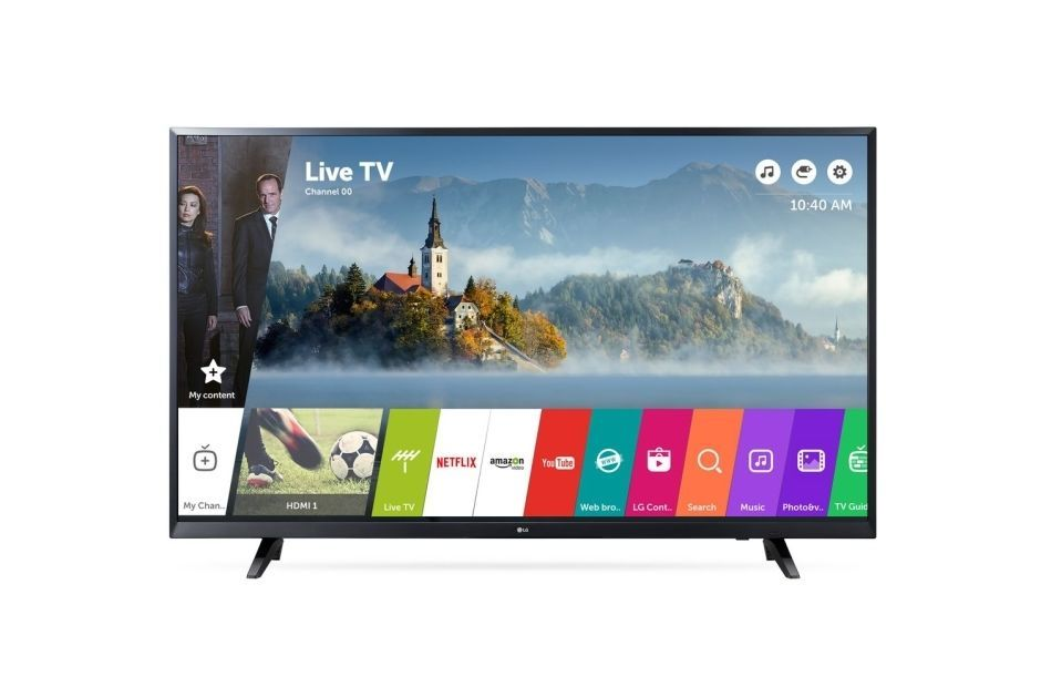 """TV LED 43"""" 108 cm 43UJ620V - Noir"""