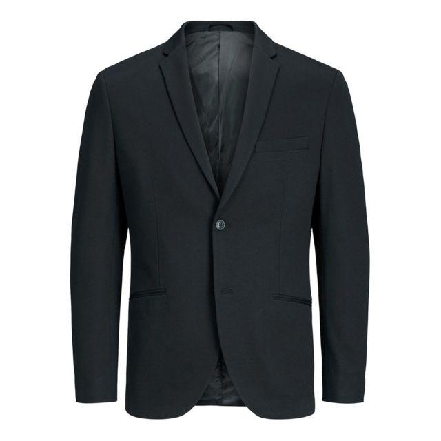 Jack JONES - Veste Blazer homme noir minimaliste - pas cher Achat ... 1f377fdfa42