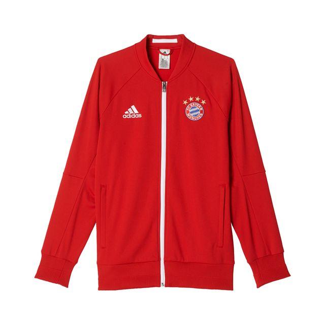 Adidas performance - Veste Anthem Bayern Munich Rouge - pas cher ... 9f5abbae120