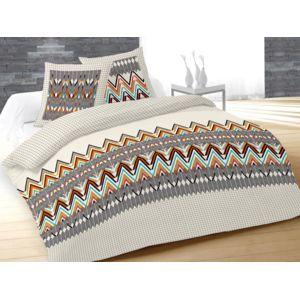 soleil d 39 ocre parure de couette 260x240 cm arrow naturel 100 coton 57 fils cm2 260cm x 240cm. Black Bedroom Furniture Sets. Home Design Ideas