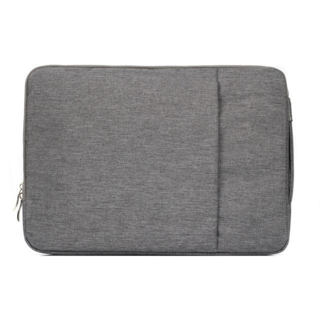 la meilleure attitude 66c10 0170e Sacoche Macbook Air 15.4' Pochette Ordinateur Portable Waterproof Antichoc  Gris