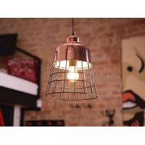Beliani - Lampe - Lampe de plafond - Métal - Cuivre - Monte