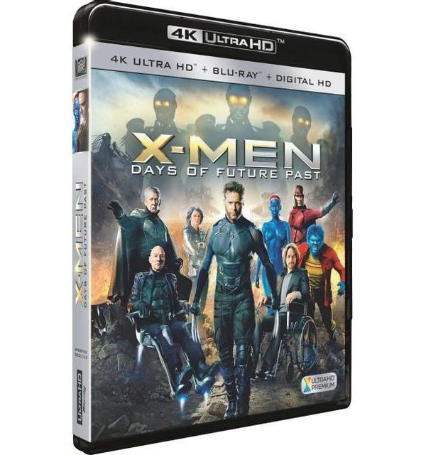 20th Century Fox X-men Days of Future Past Combo Combo 4K Ultra Hd + Blu-ray + Dhd