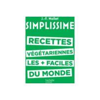 Hachette - Livre Simplissime Recettes végé