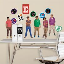 Mon Beau Tapis - Stickers One Direction Roommates Repositionnables 27 stickers