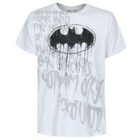 Ecko - T-shirt Unltd Batman Mean Streets Bleach White
